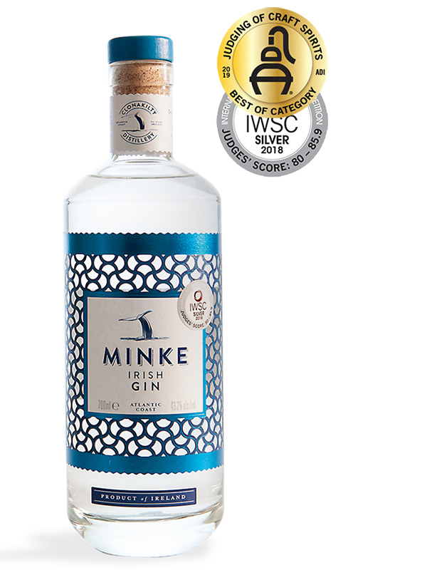 Clonakilty Irish Gin Minke